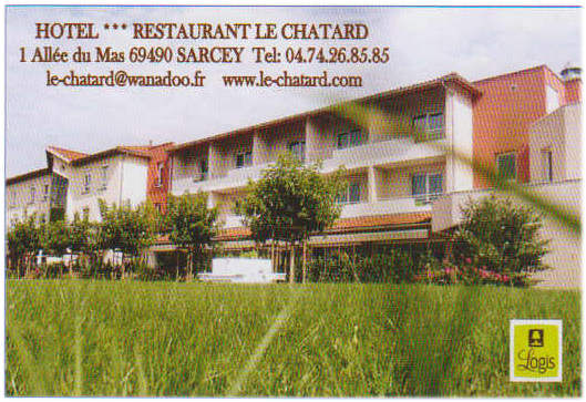Hotel restaurant LE CHATARD