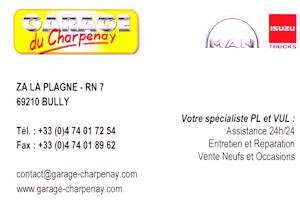 Garage du charpenay