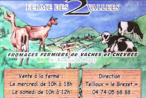 La ferme des 2 vallees