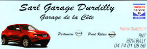 Sarl garage Durdilly