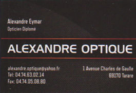 Alexandre Optique