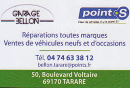 Garage Bellon Tarare
