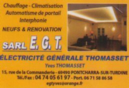 SARL EGT Thomasset