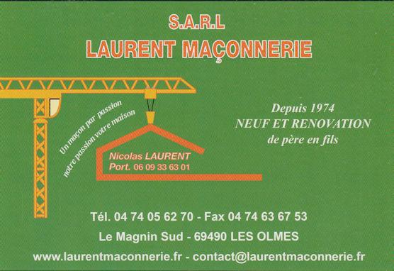 SARL Laurent Maconnerie