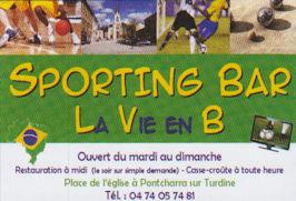Sporting Bar