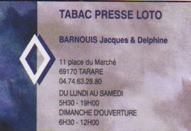 Tabac Barnouis