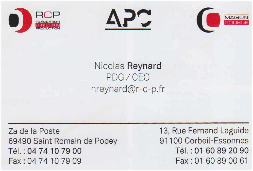 APC nicolas reynard