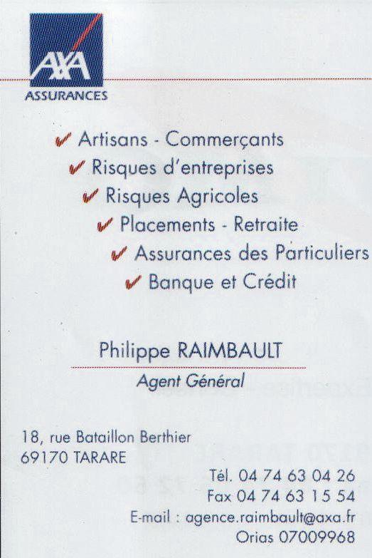 AXA Philippe Raimbault