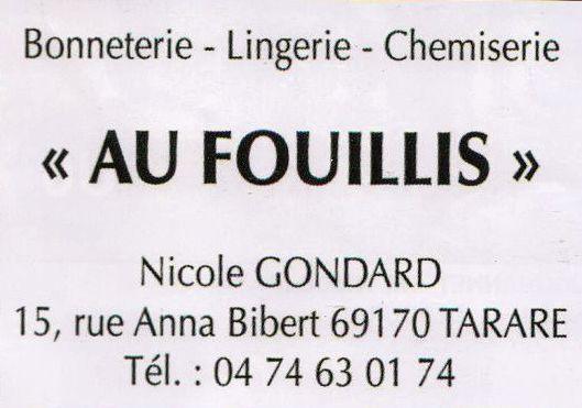 Au Fouillie