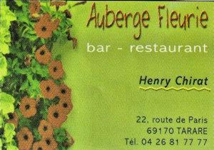 Auberge Fleurie