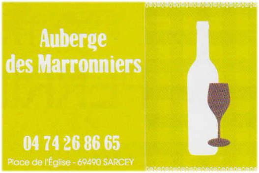 Auberge des Marronniers