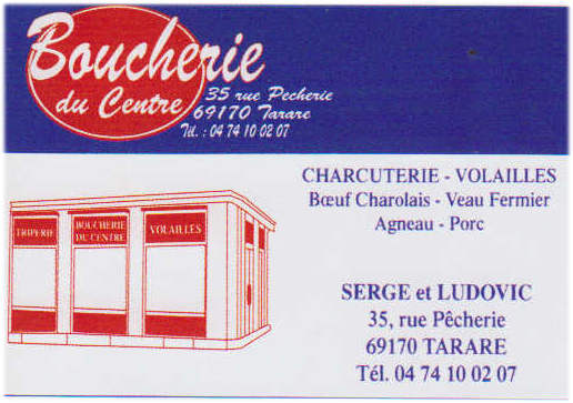 Bouicherie du centre