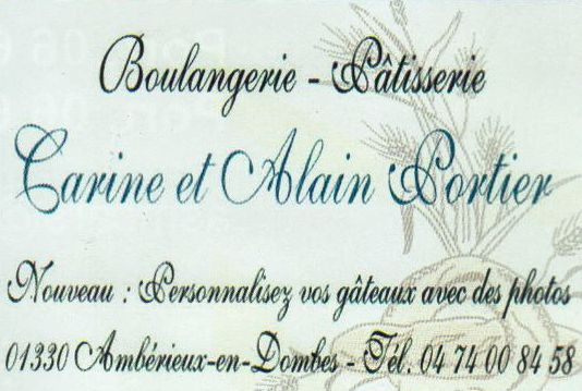 Boulangerie Carin et Alain Portier