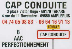 CAP Conduite