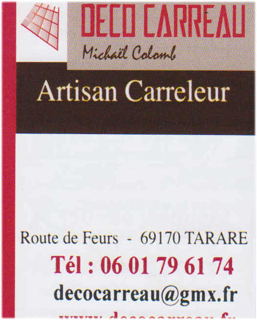 Decoi carreau artisan Carreleur