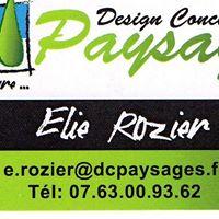 Designe concept Paysages Elie Rozier