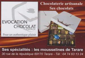 Evocation Chocolat