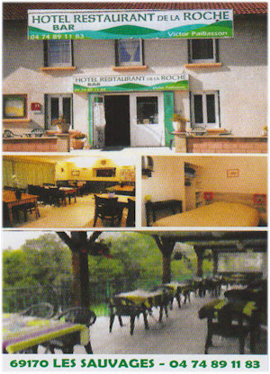 Hotel restaurant de la roche