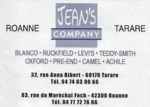 Jeans Compagny Roanne