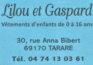 Lilou et Gaspard
