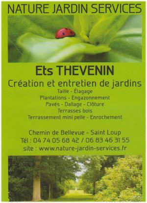 Nature et jardin ets thevenin
