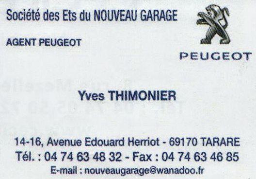 Peugeot Yves Thimonier