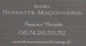 SARL Noisette Maconnerie