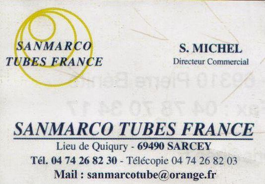 SanMarco Tube France
