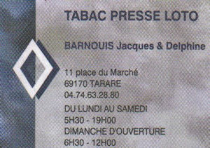 Tabac Presse BARNOIUIS