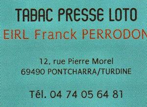 Tabac Presse PERODON