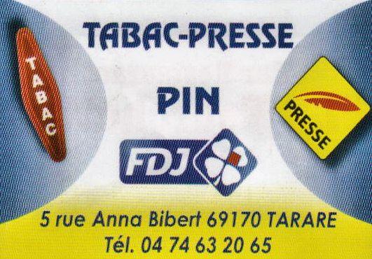 Tabac Presse PIN