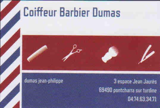 Coiffeur barbier Dumas