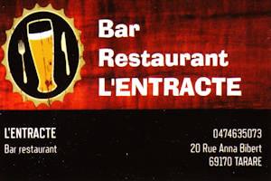 Bar restaurant L entracte