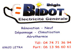 Electricite generale Regis Bidot