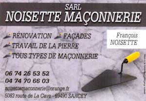 Noisette maconnerie