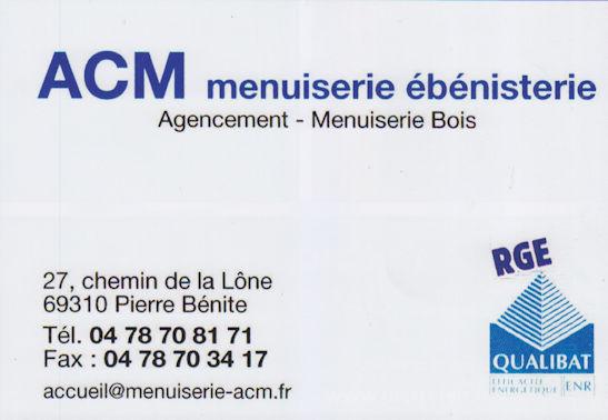 ACM Menuiserie
