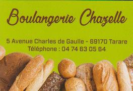 Boulangerie Chazele