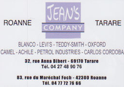 Jeans et Compagny