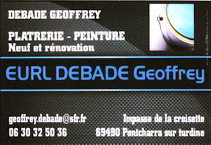 EURL Debade Geoffrey
