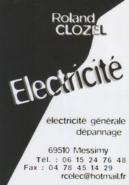 Electricite Roland Clozel