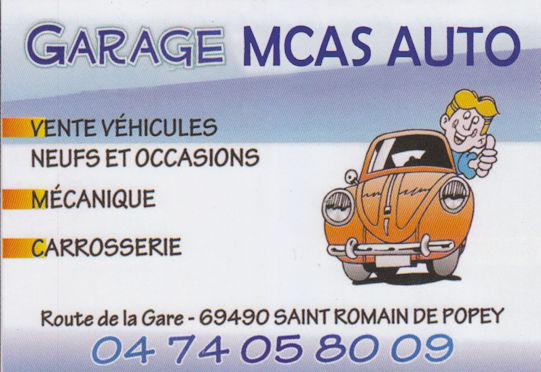 Garage Mcas Auto