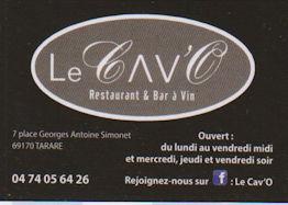 La Cave restaurant