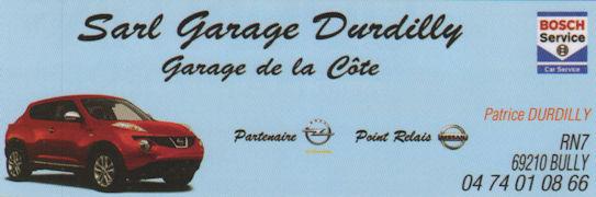 SARL garage Durdilly