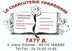 TATY B Charcuterie